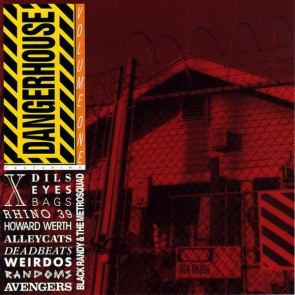 "VARIOUS ARTISTS ""Dangerhouse Volume 1"" LP  (Colored vinyl)"