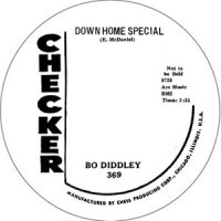 "DIDDLEY, BO ""Down Home Special/ Mumblin' Guitar"" 7"""