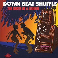 """VARIOUS ARTISTS """"Down Beat Shuffle: The Birth Of A Legend"""" (2xLP)"""