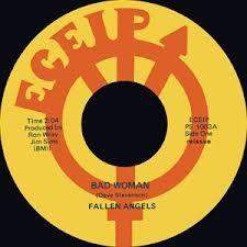 "FALLEN ANGELS ""Bad Woman""/ RIC GARY ""Pimples & Braces"" 7"""