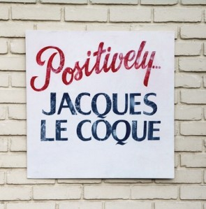 """Positively...Jacques Le Coque"" LP (Red, white & blue splattered vinyl)"
