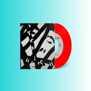 "TEN HIGH ""Slackjaw Gaze b/w No Waves"" 7"" (RED vinyl)"