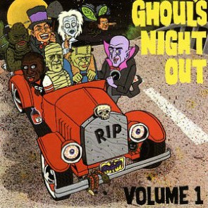 """VARIOUS ARTISTS """"Ghouls Night Out Vol. 1"""" LP"""