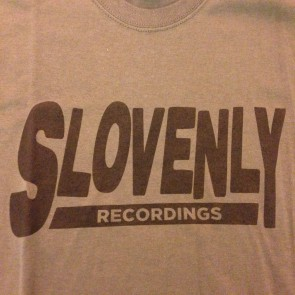 SLOVENLY CHARCOAL BLOCK T-SHIRT MEN'S (SMALL)