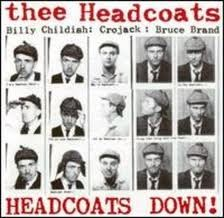 "HEADCOATS, THEE ""Headcoats Down"" LP (White Vinyl)"