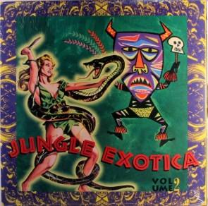 "VARIOUS ARTISTS ""Jungle Exotica Vol. #2"" LP (Gatefold)"