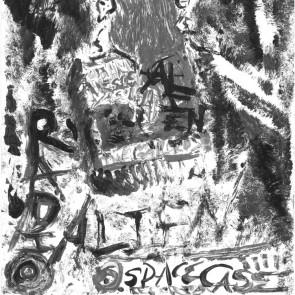 "JOHN WESLEY COLEMAN AND THE GAYLORDS ""Radio"" b/w ""Aliens"" 7"" (ORANGE vinyl)"