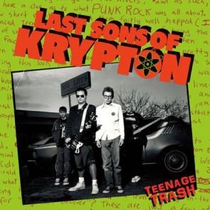 """LAST SONS OF KRYPTON """"Teenage Trash"""" LP"""
