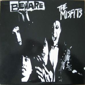 """MISFITS """"Beware"""" 12"""" (Black vinyl)"""