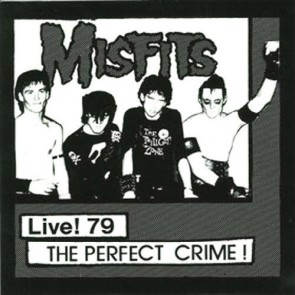 "THE MISFITS ""Live '79-The Perfect Crime"" 7"" (WHITE vinyl)"