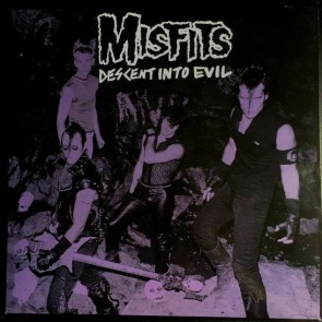 "THE MISFITS ""Descent Into Evil"" LP (GREEN vinyl, LTD.)"