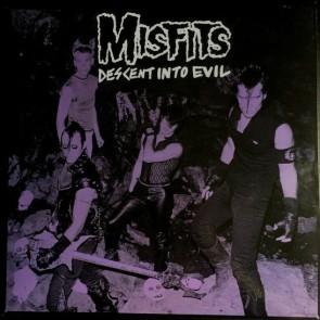 """THE MISFITS """"Descent Into Evil"""" LP (GREEN vinyl, LTD.)"""