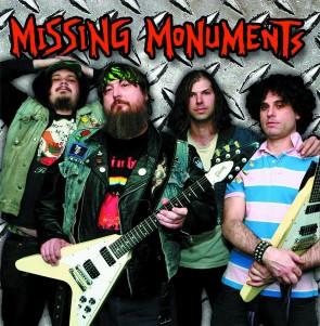 """MISSING MONUMENTS """"S/T"""" LP"""