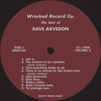 "ARVEDON, DAVID ""The Best Of Vol. 3"" LP"