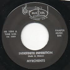 """MYRCHENTS """"Indefinite Inhibition"""" 7"""""""