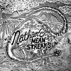"NATHAN & THE MEANSTREAKS ""Childstar Redemption / Adams Dog"" (Black & White Cover)"