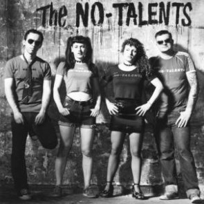 "NO TALENTS ""S/T"" LP"