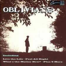 "OBLIVIANS ""Play 9 Songs With Mr. Quintron"" LP"