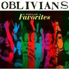 "OBLIVIANS ""Popular Favorites"" LP"