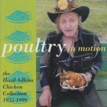 """ADKINS, HASIL """"Poultry In Motion"""" LP (Gatefold)"""