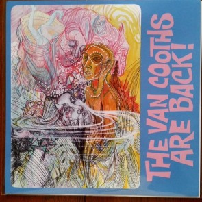 "VAN COOTHS ""The Van Cooths Are Back!"" LP (Orange Marbled Vinyl, LTD., hand numbered)"