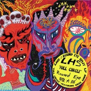 "LHS/ ROUND EYE ""Full Circle"" LP (RED vinyl)"