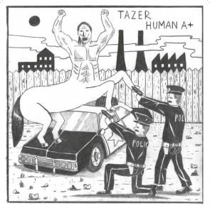 "TAZER ""Human A+"" EP"