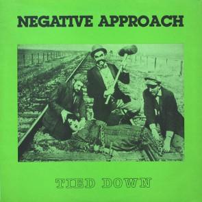 "NEGATIVE APPROACH ""Tied Down"" LP"