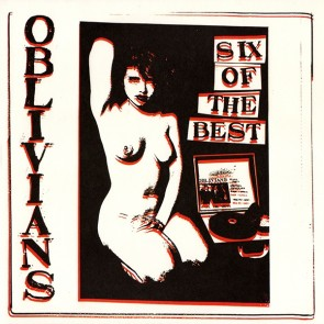 "OBLIVIANS ""Six Of The Best"" 10"""