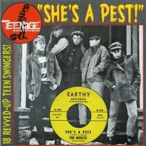 "VARIOUS ARTISTS 'Teenage Shutdown-Vol. 15 She's A Pest"" CD"
