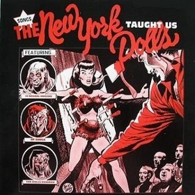 "VARIOUS ARTISTS ""Songs The New York Dolls Taught Us"" LP"