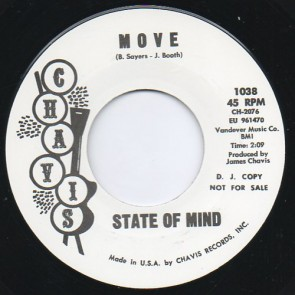 "STATE OF MIND ""Move/ If He Comes Back"" 7"""