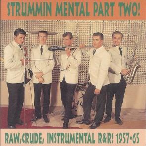 """VARIOUS ARTISTS """"Strummin' Mental Vol. 2"""" CD"""