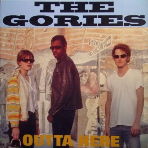 "GORIES ""Outta Here"" CD - (Jewelcase version)"