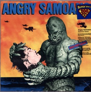 """ANGRY SAMOANS """"Back From Samoa"""" LP (200g vinyl)"""