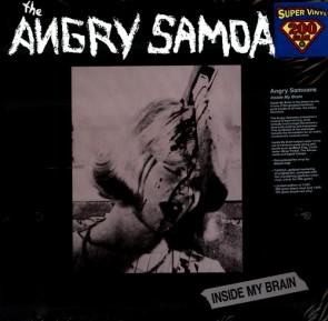 """ANGRY SAMOANS """"Inside My Brain"""" LP (200g vinyl)"""