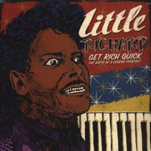 "LITTLE RICHARD ""Get Rich Quick : The Birth Of A Legend"" LP"