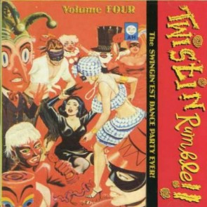 "VARIOUS ARTISTS ""Twistin' Rumble Vol. 4"" CD (Includes Volumes 7-8)"