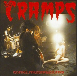 "CRAMPS ""RockinnReelininAucklandNewZealandXXX"" LP (RED vinyl)"