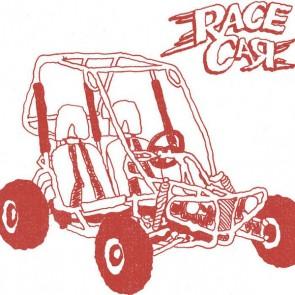 """RACE CAR """"B.Y.O.G.K."""" 7"""""""