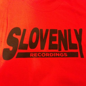 SLOVENLY RED BLOCK T-SHIRT WOMEN'S (SMALL)