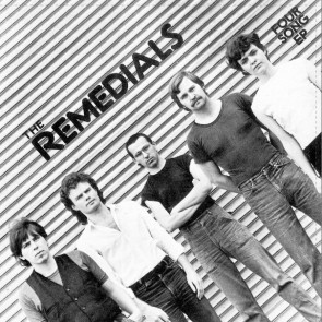 """THE REMEDIALS """"Four Song EP"""" 7"""""""