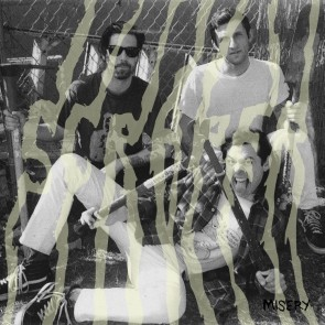 "SCRAPER ""Misery"" (GOLD Vinyl) LP"