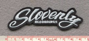 SLOVENLY embroidered patch 2