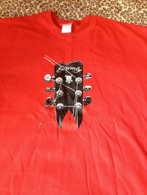 SLOVENLY RED T-SHIRT MEN'S (SMALL)