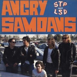 """ANGRY SAMOANS """"STP Not LSD"""" LP (BLUE vinyl)"""