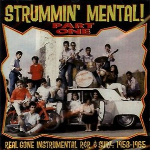 "VARIOUS ARTISTS ""Strummin' Mental Vol. 3"" CD"
