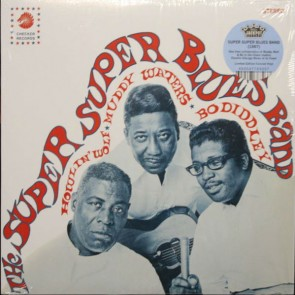 "HOWLIN' WOLF, MUDDY WATERS & BO DIDDLEY ""The Super Super Blues Band"" (Colored vinyl) LP"