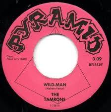 """TAMRONS """"Wild Man/ Stop, Look, Listen"""" 7"""""""