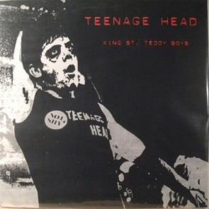 "TEENAGE HEAD ""The King Street Teddy Boys"" LP (PINK vinyl)"